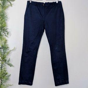 🌳 Lacoste Slim Straight Trousers Cotton Pants 8